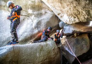 Canyoning Macedonia 19 - Mountain Solution