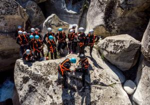 Canyoning Macedonia 7 - Mountain Solution