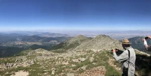 Prespa view Tourists